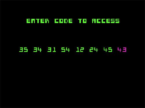 Código a introducir