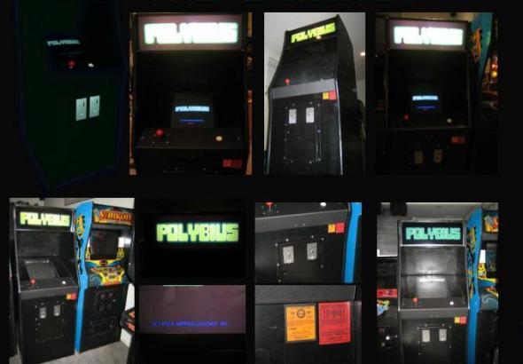 Distinas máquinas de Polybius