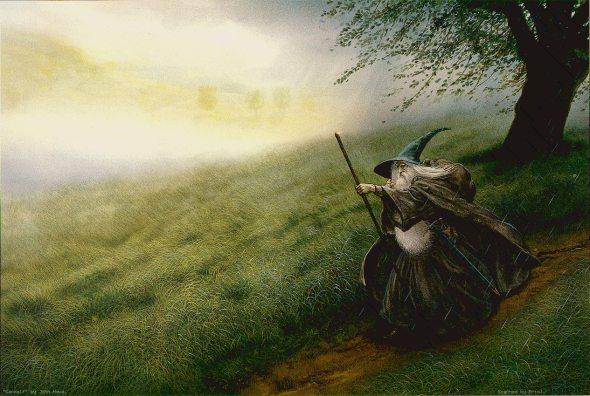 Gandalf El Gris, por John Howe