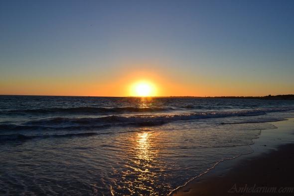 Foto tomada en el la playa de Santa Catalina, en El Puerto de Santa María (Cádiz, España).